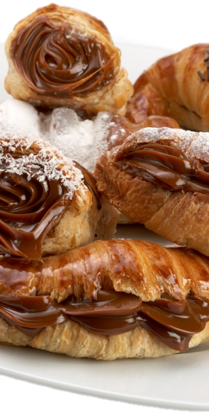 Dulce de leche with pastry